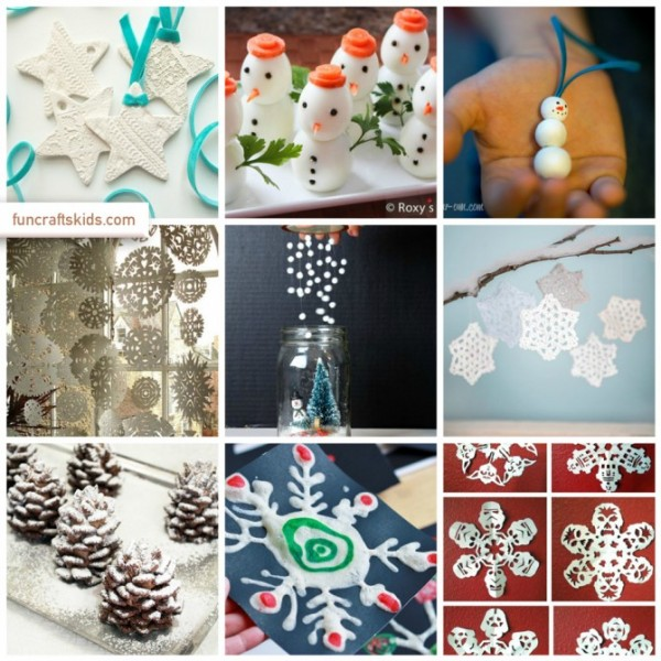 snow crafts and ideas