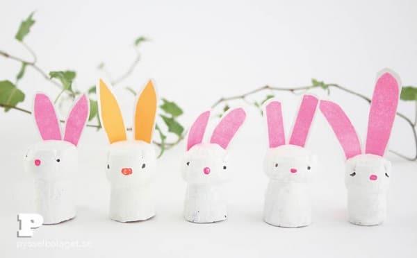 Easy BUNNY CRAFTS: Cork-Bunny-craft-Pysselbolaget-7