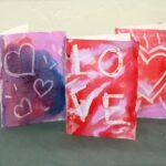 Crayon Resist Card Making for Kids
