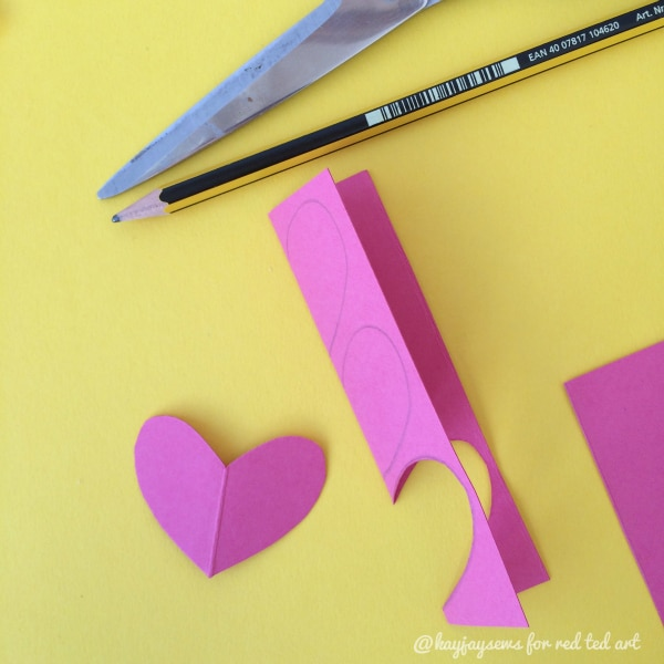 DIY Heart Teabags - make your Valentines Hotchocolate gift with love