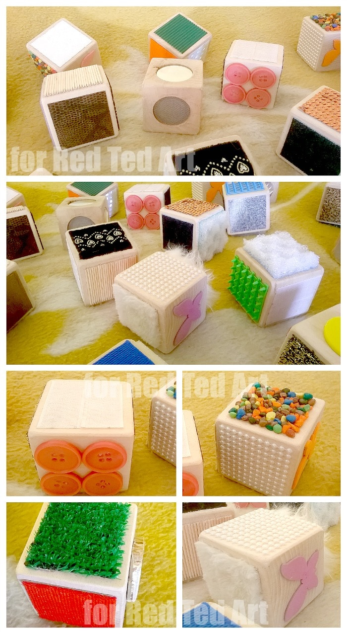 Sensory Toys For Adults : Diy sensory blocks how to red ted art s