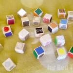 DIY Sensory Blocks - lovely toddler gift