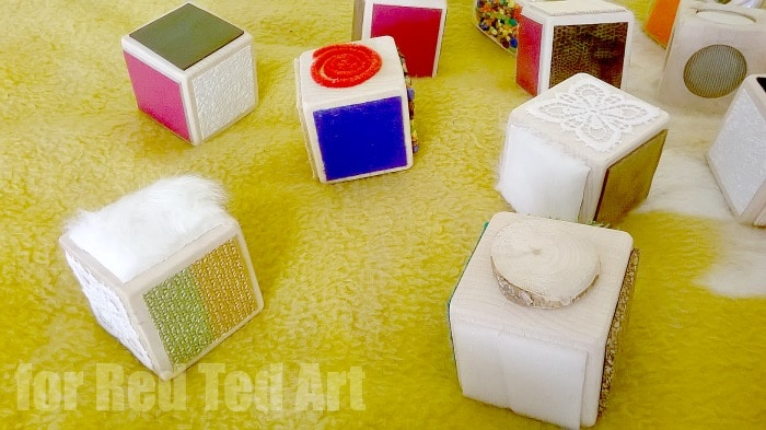 DIY Sensory Blocks
