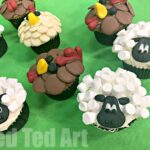 Easy Sheep Cupcakes – Farmyard Party!