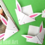 Easy Paper Bunny Bookmark