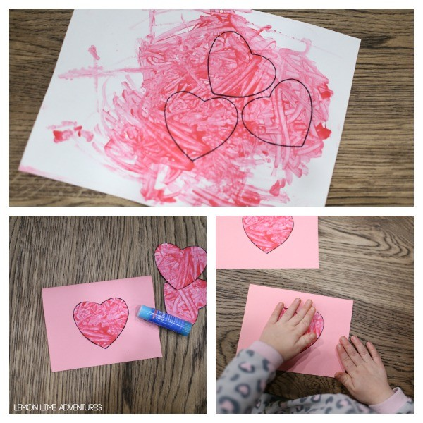 Toddler Valentines Day Cards Red Ted Arts Blog – Make a Valentine Card