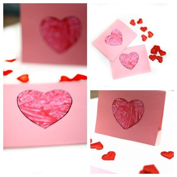 Easy Toddler Valentines Day Cards - these are so easy to make and look adorable