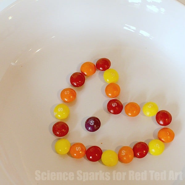 Fun Experiment with M&Ms or Skittels