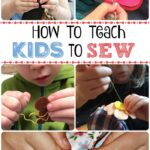 Teaching Kids To Sew