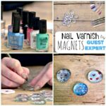 How to make Easy Nail Varnish Magnets - a great DIY demonstrated by the Nail Varnish Expert!