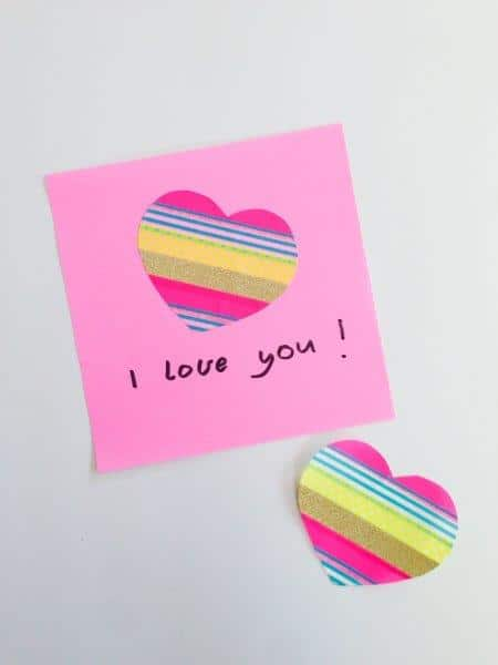How to make Washi Tape DIY Stickers - such a fun way to create your own designs (2)
