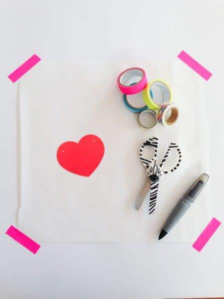 How to make Washi Tape DIY Stickers - such a fun way to create your own designs (3)