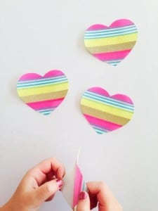How to make Washi Tape DIY Stickers - such a fun way to create your own designs (6)