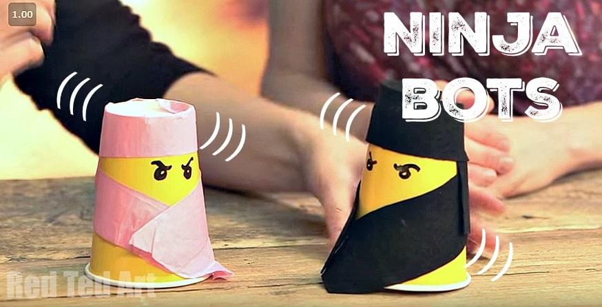 Easy LEGO Ninja Robot