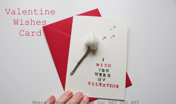 Handmade Valentines Card Designs Valentines Wishes Cards. Cute puns for Valentines.