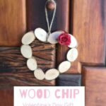 Wood Slice Heart Ornament, doubles up as a Picture Frame too and makes a lovely Valentine's Day Gift or Christmas Ornament (1)