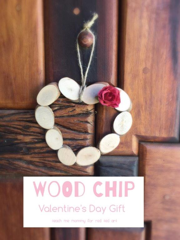 DIY Heart Ornament (made from Wood Slices)
