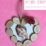 Wood Slice Heart Ornament, doubles up as a Picture Frame too and makes a lovely Valentine's Day Gift or Christmas Ornament (2)