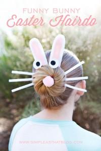Easy BUNNY CRAFTS: bunny_hair1