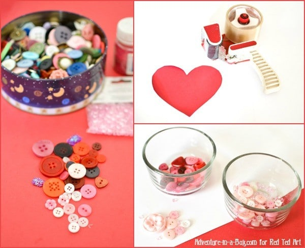 button-heart-gift-wrapping-preparations