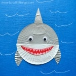 cupcake-liner-shark