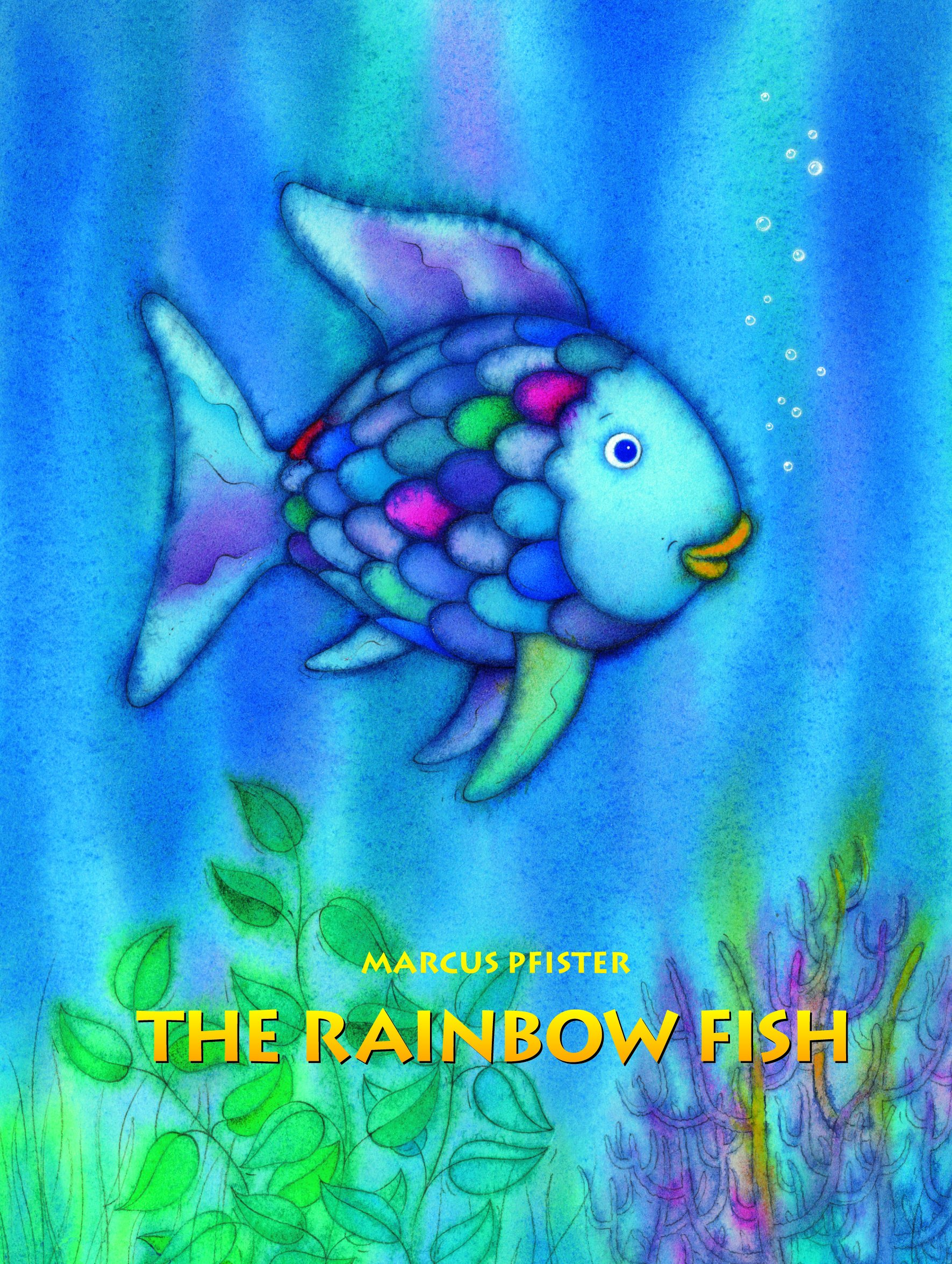 rainbow fish book - Red Ted Art's Blog - photo#49