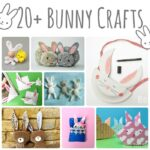 20+ adorable little bunny crafts, my these are all so cute! Love that there is something for everyone to make here