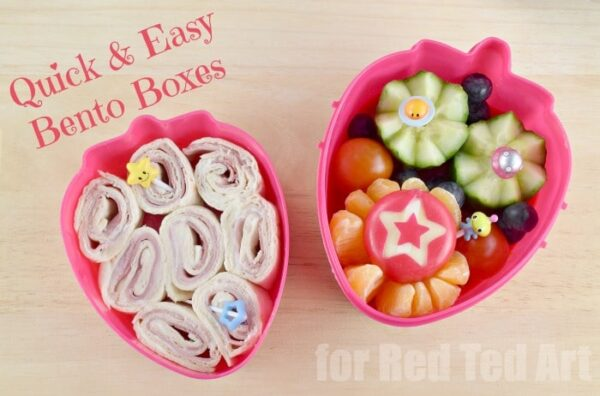 Easy Bento Box - these are so very cute and easy