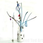 Easy DIY Jewelry Tree