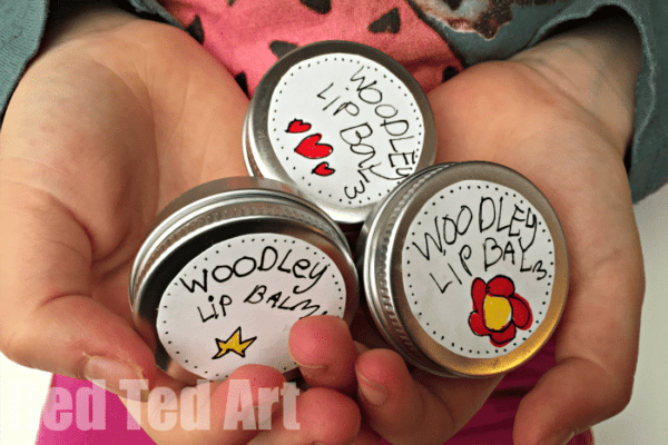 Easy peasy DIY Lip Balm - the kids will love to make this! Great gift for Mother's Day or Valentine's Day too!