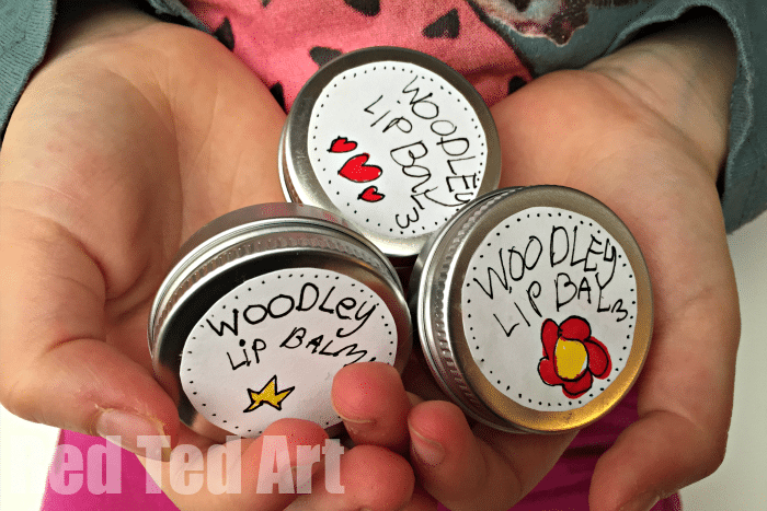 Easy Diy Lip Balm For Kids Flavoured Red Ted Art