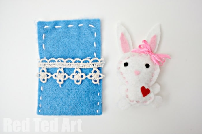 Cute Felt Softies – Bunny
