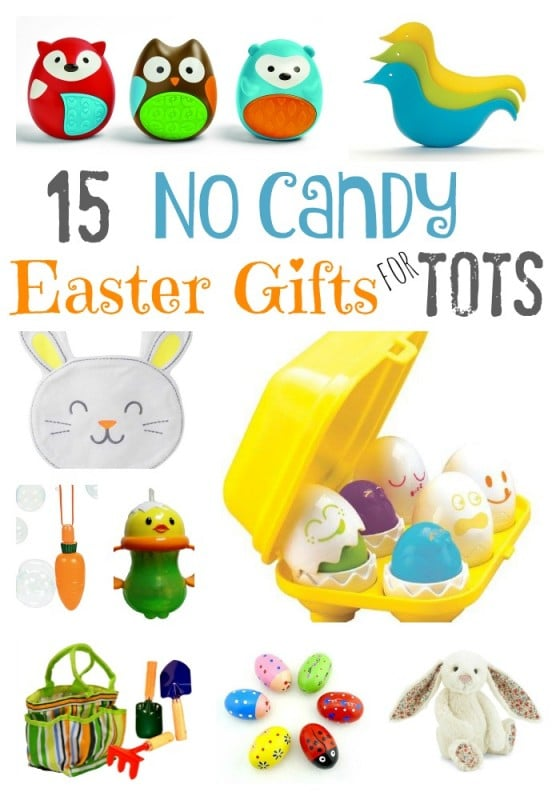 Easter Basket gift ideas for toddlers