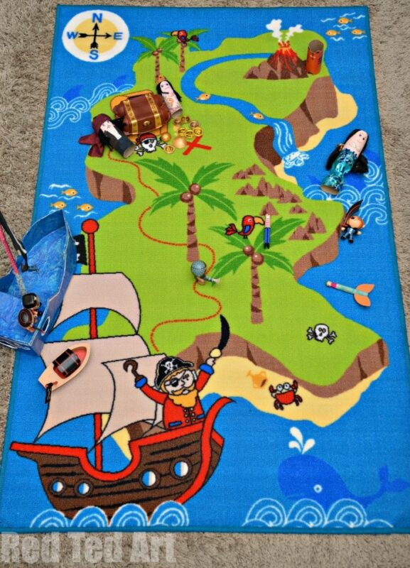 Pirate Map - Pirate Pretend Play