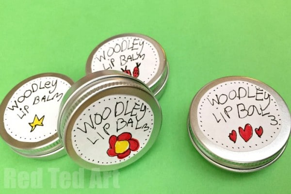 Super Easy DIY Lip Balm for Kids to Make - using common ingredients