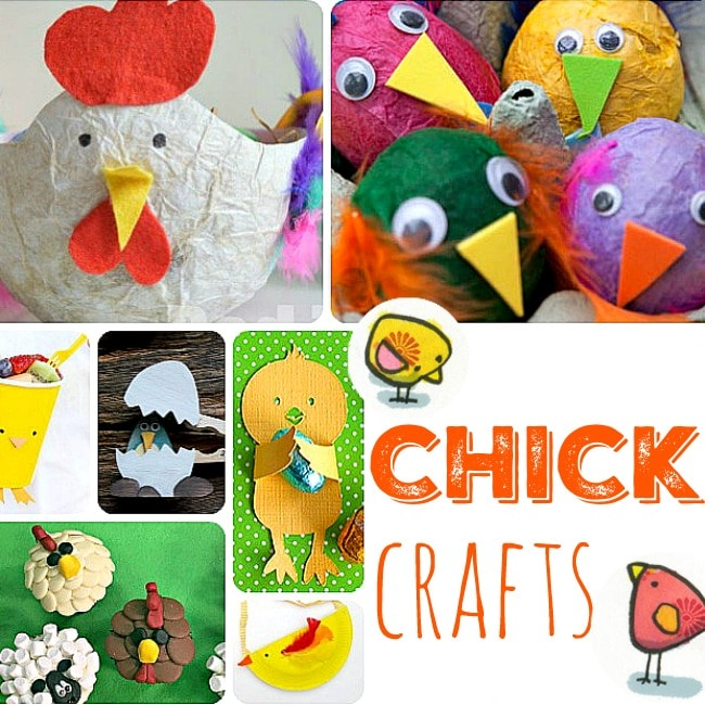 21 Easy Easter Chick Crafts For Kids Red Ted Art