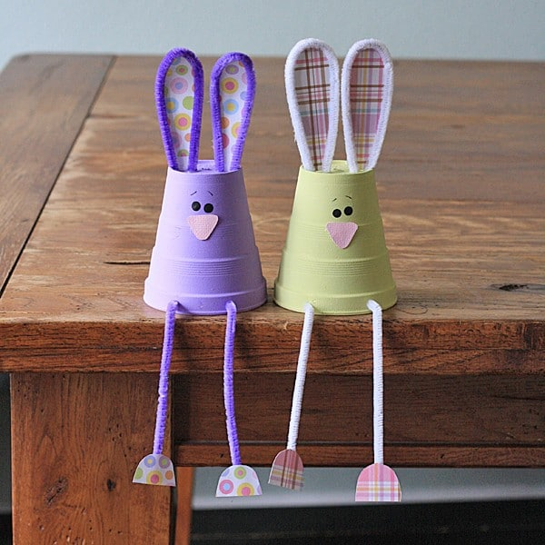 20 Cute Bunny Crafts For Kids Red Ted Art