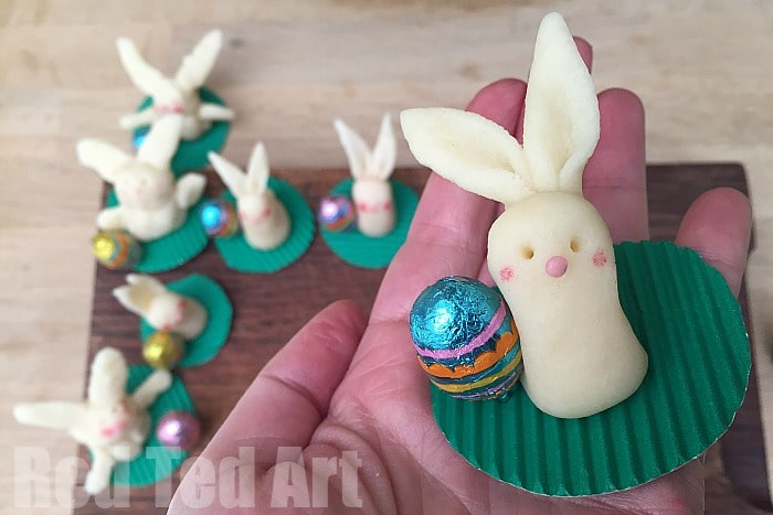 Easy Fondant Bunny How To