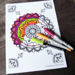 Meaningful Mandala Coloring Pages for Grown Ups
