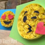 Easy Paper Quilling Emoji Cards