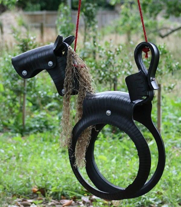 Pony-Tire-Swing