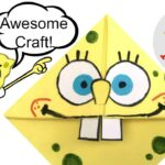 Spongebob Crafts Corner Bookmarks