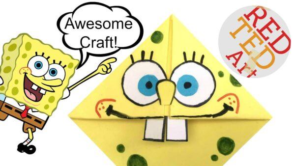 Spongbob Bookcorner Craft! One for the kids