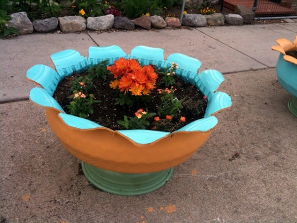 Tire Planter DIY