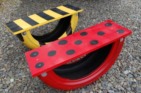 17 ways to reuse tires red ted arts blog tire see saws great tire upcycled garden toys for kids solutioingenieria Gallery