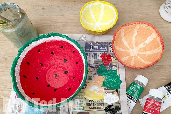 how to make weatherproof papier mache