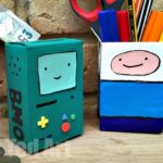 Adventure Time Craft – Desk Tidy & Money Box