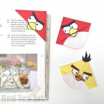 Angry Bird Corner Bookmarks