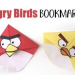 Angry Bird Crafts – Easy Bookmark Corners