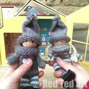 Knitting Pattern For Kindness Elves : Kindness Elves - Red Ted Arts Blog